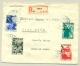 Nederland - 1932 - ANVV-serie op R-brief naar Pago Pago / American Samoa