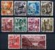 20129) ALL.BESETZUNG Rheinland Pfalz # 32-41 gestempelt aus 1948, 550.- �