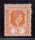 Leeward Islands MNH Scott #109a 3p George VI,&amp;hellip;<br><strong>2.25 CAD</strong>