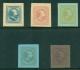 Nederland 1866 - 5 Berger-Levrault proeven