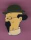 44564- Pin's.Tintin.Professeur Tournesol..BD.Cin�ma.sign� coideroux corner Herge.