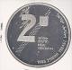 ISRAEL 2 NEW SHEQUEL JE5753-1993 ZILVER PROOF REVOLT AND HEROISM MINTAGE 4994 PCS. - Israel