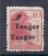 150021196  TANGER  EDIFIL  N�  120 hh  (MARQUILLADO) (SIGNED)  */MH
