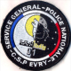 Ecusson Collection SERVICE GENERAL  POLICE  C.S.P. EVRY  91