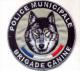 Ecusson Collection POLICE MUNICIPALE BRIGADE CANINE