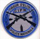 Ecusson Collection  TIREUR D'ELITE GIPN GROUPE D'INTERVENTION POLICE