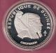 GUINEE 500 FRANCS 1970 SILVER PROOF SCARCE CHEPHREN KM23 - Guinea