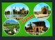IRAN  -  Isfahan  Multi View  Used Postcard As Scans - Iran