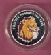 REP. DU CONGO 500 FRANCS 1996 AG PROOF MULTICOLOUR OPL. ? PCS LION (SCRATCHES ON CAPSEL) - Congo (Republic 1960)