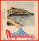 BUVARD Biscottes MAGDELEINE @@@ Numéroté @@@ 50 GRANVILLE Manche - Granville Le Casino - Biscottes