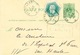 705/23 - Entier Lion Couché + TP Télégraphe En EXPRES Télégraphique BRUXELLES EST 1883 En Ville - Postcards [1871-09]
