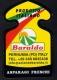 # ASPARAGI BARALDO Padova Italy Asperges Asparagus Esparragos Spargel Tag Balise Etiqueta Anhänger Cartellino Verduras - Fruits & Vegetables