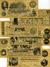 BANCONOTE STATI UNITI (RIPRODUZIONI)// 12 BANCONOTE 1862-64 - Confederate Currency (1861-1864)