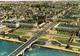 Tours.. Belle Vue Aérienne De La Ville Le Pont Wilson Sur La Loire L'Eglise St-Julien
