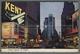 U6070 NEW YORK CITY TIMES SQUARE AT NIGHT SIGARETTES KENT VG (m) - Time Square