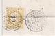 75 Paris - Lettre De 1874 Avec Tpn°59 Oblit étoile 12 Complete Tb état,double Affranchissement Et Position Du Tp Inhabit - Marcophilie (Lettres)
