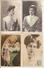 8908. LOT DE 4 CPA ART NOUVEAU REUTLINGER ET AUTRE. YVONNE GARRICK COMEDIE FRANCAISE - Artistes