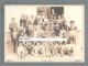 BUZET - PINGUENTE ( ISTRIA ) 1912. Students & Teachers Of Primary School ( Croatia ) Large Antique Cabinet Photo Croazia - Photographs