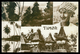 TIMOR - Paísagem Timorense; Catatuas;Espelho Timorense;Casas De Lospalos.( Ed. Tjing Fa Ho Nº 13)  Carte Postale - Timor Oriental