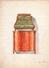 Plan D'un Meuble D'appui-commode.A.DECOUR,décoration Anciennes & Modernes,26 Bis Rue François 1er,Paris.30,3 X 22 Cm - Aquarelles