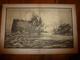 """La GUERRE NAVALE , Torpillage De La """" FOURCHE """"   .(dessin  F. Lantoine ) - Bateaux"""