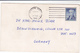1961 QSL CARD WiZZ  Boston Massachusetts USA To Germany,  Stamps Cover Radio Card Postcard - Radio Amateur