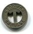 Detroit & Canada Tunnel Co. Fare Token - Noodgeld