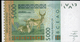 ÉTATS D´AFRIQUE DE L´OUEST 5000 Francs 2003 (lettre K: Sénégal) , Verso Kobus Kob Kob, Cobe De Buffon - West-Afrikaanse Staten