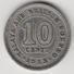 @Y@    Maleisië En Brits Borneo   10 Cents   1953   (4445) - Malaysie