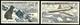 + SAINT-PIERRE ET MIQUELON: Mi #386-387 Yv PA #24-25 Poste Aerienne. Avions, Chiens / Airmail (1957) MNH ** Neufs [SALE]