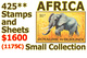 Congo - Sénégal - Ruanda - Rwanda - Zaire - Burundi - Sud-Kasai - Exotiques - CentrAfrique - Mauritanie ...  NO RESERVE!