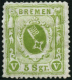N°15 5s Vert-jaune, Pli De Gomme - B - Germany
