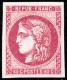 N°49 80c Rose - TB - 1870 Bordeaux Printing