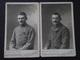 SOLDATS Des 1er Et 133e (décoré) REGIMENT D'INFANTERIE - CDV - Photo Par Alb..., à Fontainebleau - Guerre 1914-18 - WW1