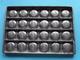 CHOCOLADEVORM / MOULE - CHOCOLAT MOLD - PRALINE Pastille ( Form. 20,5 X 14,5 Cm - 568 Gr. / Vintage / Zie Foto´s ) ! - Otros