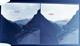 Quatre Plaques Steréoscopiques 13x7 - Routes Et Paysages Entre Espagne Et Pays Basque  (513-2, E1) - Glasdias