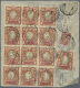 """1922, 10 K. (13, Inc. Block-12) Etc. Tied """"MOSKVA 16 8 22"""" To Reverse Of Registered Air Mail Cover To Germany W.... - Russland & UdSSR"""