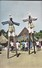 COTE D'IVOIRE---Les Echassiers Du MAN---l'afrique En Couleurs--voir 2 Scans - Côte-d'Ivoire