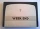 Boîte Vide De 50 Cigarettes - WEEK-END - Tabac De Virginie - En Parfait état - - Boites à Tabac Vides