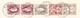 Schweiz Stehende 40Rp, 1Fr. (2) Und WZ3, 5Rp Couvet 31.1.1898 Postverwaltung Bordereau - 1882-1906 Armoiries, Helvetia Debout & UPU