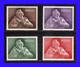 1957 - Portugal - Sc. B 24 / B 27 - MNH - Lujo - Valor  Catalogo 140 € - PO-127 - 01