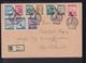 Österreich R-Brief 1948 Sonderstempel USA Ausstellung - 1945-60 Briefe U. Dokumente