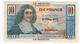 Billet De 10 Francs CAISSE CENTRALE DE LA FRANCE D'OUTRE MER    - LA REUNION  -   ND - Reunion