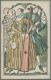 """WIENER WERKSTÄTTE, WW 1003 Fritzi Löw""""Rokoko-Mode"""", Ungebraucht Und In Sehr Guter Erhaltung. (D) - Illustrators & Photographers"""