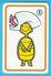 HANNA-BARBERA  - Yugoslav Vintage Playing Card No. 9 Issued 1970's By Favorit * Carte à Jouer Spielkarte TURTLE - Spielkarten