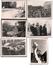 LOT SERIE DE 6 PHOTOS DE L'ENTERREMENT DE GENERAL DE GAULLE A COLOMBEY LES 2 EGLISES 12 NOV 1970