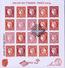 F 4871 BLOC CERES SALON Du TIMBRE 1er JOUR ANNEE 2014