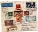Lettre Recommandée Par Avion De Zürich (02.12.1930) Pour Dakar Via Fez_Consul De Suisse_Ad Astra Afrika Flug