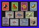 1958 - Cuba - Sc. 608 / 609 - C 185 / C 191 - U. 26 / 27 - MNH - Valor De Catalogo 85 € - CU-35 - 01 - Cuba