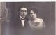 26065  Deux 2 Carte Photo -femme Couple -robe Fleur Vers 1910 ?  -  Belgique Studio Monu Bruxelles - Femmes